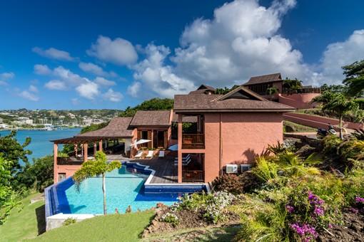 Pool House at Calabash Grenada