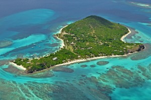 The Villa Collection Petit St. Vincent Grenadines aerial