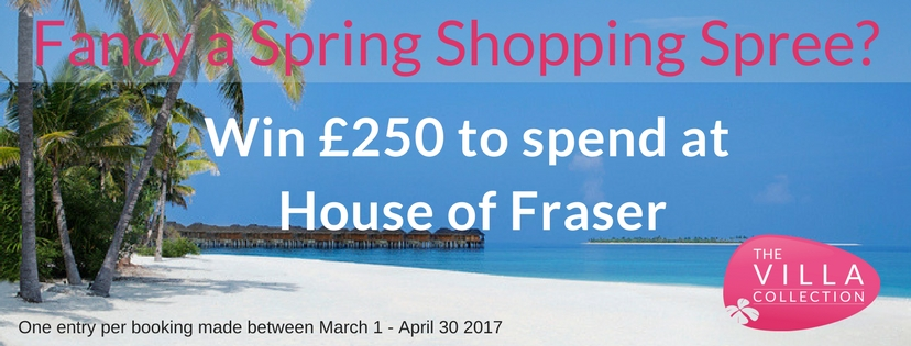 Fancy a Spring Shopping Spree-