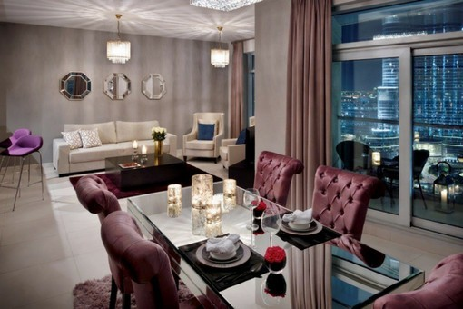 Burj and Fountain View Apartment