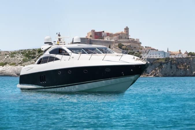 Ibiza yacht charter the villa collection